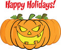 Happy Holidays Greeting With S...