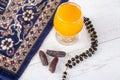 Happy iftar breakfast in Ramadan