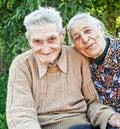 Felice e gioioso vecchio
