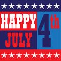 Happy July 4 graphic