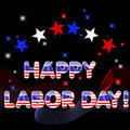 Happy Labor Day. Royalty Free Stock Photography