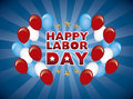 Happy labor day Stock Image