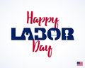 Happy Labor Day, greeting card