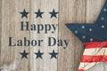 Happy Labor Day Greeting Royalty Free Stock Photo