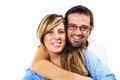 Happy Loving Couple Embracing Royalty Free Stock Photo