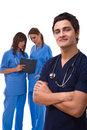 Happy medical doctors Royalty Free Stock Photo