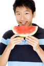 Happy Melon Royalty Free Stock Image