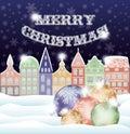 Happy Merry Christmas Backgrou...