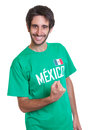 Happy Mexican Sports Fan With ...