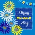 Happy Midsummer card