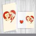 Happy mother's day greeting card design template vector illustration eps Stock Photography