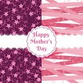 Happy mother days floral pattern