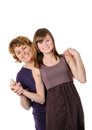 Happy mother and doughter Royalty Free Stock Photos