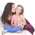 Happy mother with little daughter Royalty Free Stock Image
