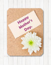 Happy Mother`s Day Card With F...