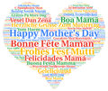 Happy Mother`s day in different languages