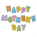 Happy Mother's Day greeting Stock Photos