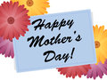 Happy Mothers Day Flowers Stock Photography