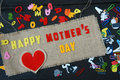 Happy mothers day, make gift for mom Royalty Free Stock Photo