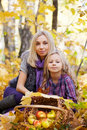 Happy mum and the daughter Royalty Free Stock Photos