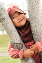 Happy Muslim Child Royalty Free Stock Photography