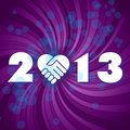 Happy new 2013 year Stock Image
