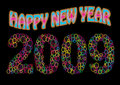 Happy New Year 2009 Royalty Free Stock Photo
