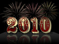 Happy New Year 2010 Royalty Free Stock Photo