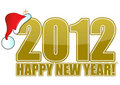 Happy new year 2012 Stock Photography