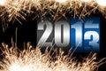 Happy new year 2013 Stock Photography