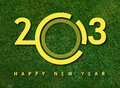 Happy new year 2013 Royalty Free Stock Photography