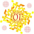 Happy new year,2013 Stock Image