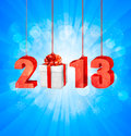 Happy new year 2013! Royalty Free Stock Photo