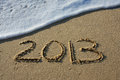 Happy New Year 2013 Stock Photo