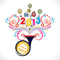 Happy new year 2013 Stock Photos
