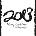 Happy new year 2013, colorful design Royalty Free Stock Images