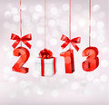 Happy new year 2013! New year design template. Royalty Free Stock Images