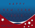 Happy New Year 2013 USA Royalty Free Stock Images