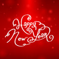 Happy new year background illustration Royalty Free Stock Image