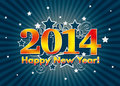 Happy new year card Royalty Free Stock Photography