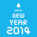 Happy new year card for Royalty Free Stock Image