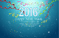 2016 happy new year Celebration background vector illustration