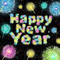 Happy New Year Celebration Royalty Free Stock Photo