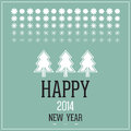 Happy 2014 new year Royalty Free Stock Photo