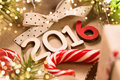 Happy 2016 New Year Royalty Free Stock Photo