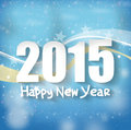 Happy new year creative fresh design Stock Photography