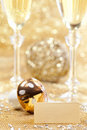 Happy new year decoration Royalty Free Stock Image