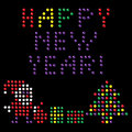 Happy New Year! design elements Stock Photo