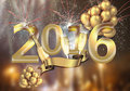Happy New Year 2016 Royalty Free Stock Photo