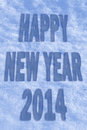 Happy new year greeting card with shadows Stock Photo